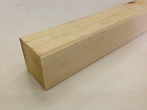 Morali abete piallati e spigolati - 7 x 7 x 200 cm ( Pz 4 )