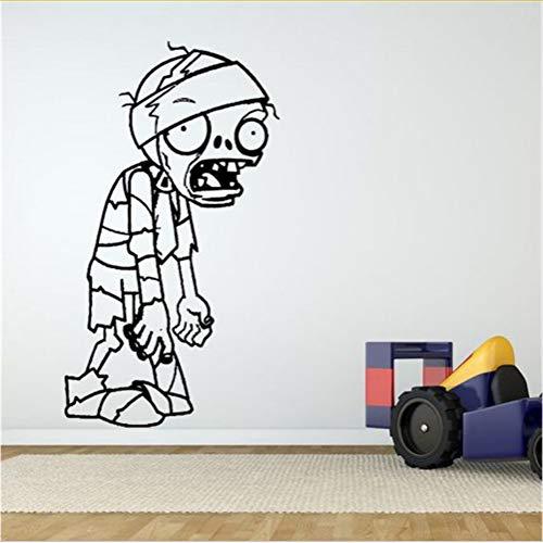 Mrhxly Neue Wand Room Decor Art Vinyl Aufkleber Wandbild Aufkleber Zombie Videospiel Wandaufkleber Kunst Dekor Kinderzimmer Wohnkultur90 * 50 ()