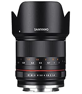 Samyang 21mm F1.4 ED AS UMC CS Objectif pour Fuji X Noir