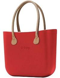 04a747b9e8 Borsa o bag grande rossa con manico lungo fango e sacca NEW COLLECTION (K)