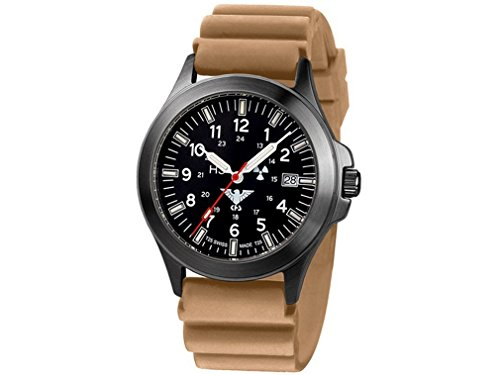 KHS Mens Watch Black Platoon Titan Chronograph KHS.BPTC.DT