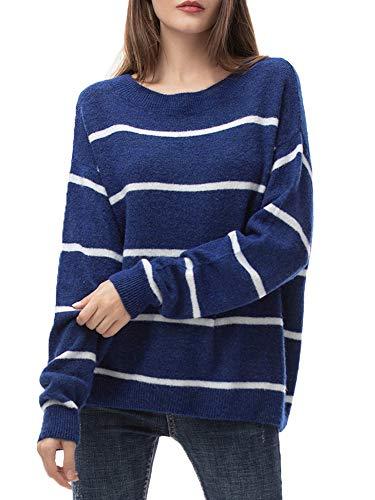Jersey Mujer Punto Camiseta Manga Larga