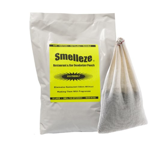 SMELLEZE riutilizzabile cottura odore rimozione deodorazione: Get odori senza fragranze in 300 SQ. FT.