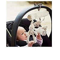 Baby Toys Stroller Rabbit Hanging Rattle Bunny Plush Musical Mobile