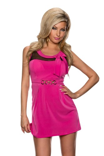 4545 Fashion4young Minirobe Sans Manches Pour Femme En 2 Coloris