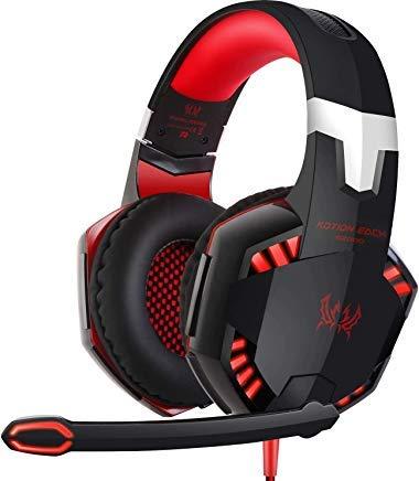 iMounTEK Kotion Each Gaming Headset für PS4, Xbox, Nintendo Switch, PC, Laptop Over-Ear-Kopfhörer (Duty Call Headset Of Wireless)