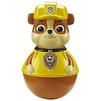 Paw Patrol – Weebles – Rubble – Figura Tentetieso de La Patrulla Canina 5 cm