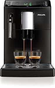 Philips HD8831/01 3100 Serie Kaffeevollautomat, klassischer Milchaufschäumer, schwarz