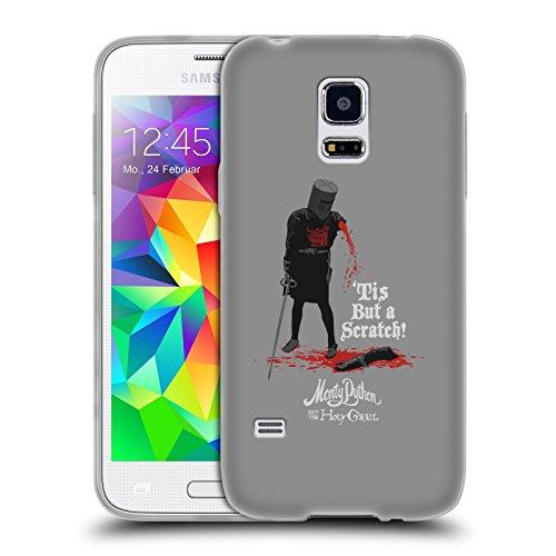 Offizielle Monty Python Tis But A Scratch Kunst Soft Gel Hülle für Samsung Galaxy S5 mini (Python-sammlung)
