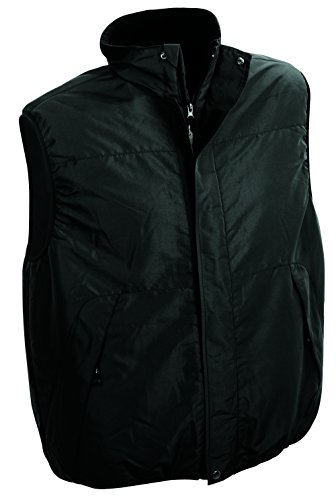 James & Nicholson–Body Vest Gilet Black