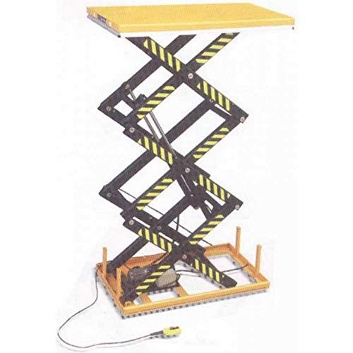 Elektrohydraulische Hebebühne mit hoher Tragkraft mit fester Hebebühne 170 x 100 cm Hochdruck-Tisch Kg.1000 h cm.300 NPFA100EF