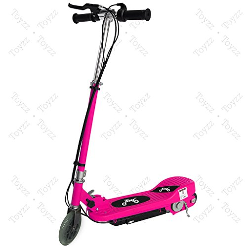 New 2017 Electric E Scooter Ride on Rechargeable Battery Removable Seat Kids Toys Ride On Cars 120W 24V Scooters (PINK WITHOUT SEAT)