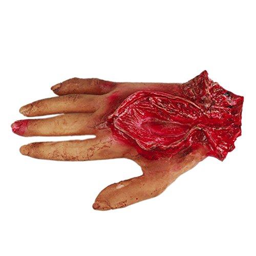 Halloween Dekoration Mit Seil Gebrochene Hand Halloween Horror Dekoration Requisiten Anhänger Dekoration Hausgarten Festliche Party - Kunststoff-halloween-platten