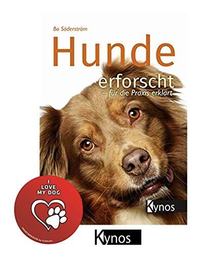 Hunde erforscht - für die Praxis erklärt Gebundenes Buch + I Love My Dog Sticker by Collectix