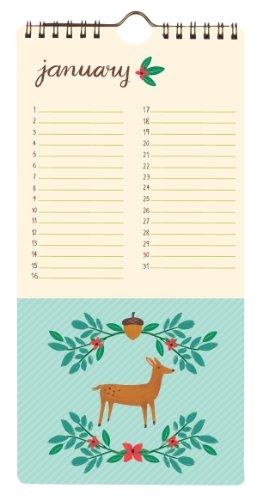 Forest Friends: Perpetual Calendar