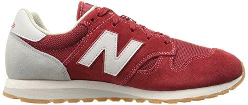 Uomo scarpa sportiva, colore Rosso , marca NEW BALANCE, modello Uomo Scarpa Sportiva NEW BALANCE U520 AH Rosso Blue