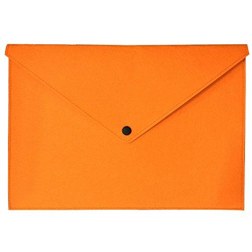 Ownuzz Schutzfilz Tasche Tasche Cover für neue Tracing Light Box, tragbare Filz Tragebeutel Schutzhülle Laptop Schutzhülle Big Ordner Umschlag Tasche Cover (Orange)