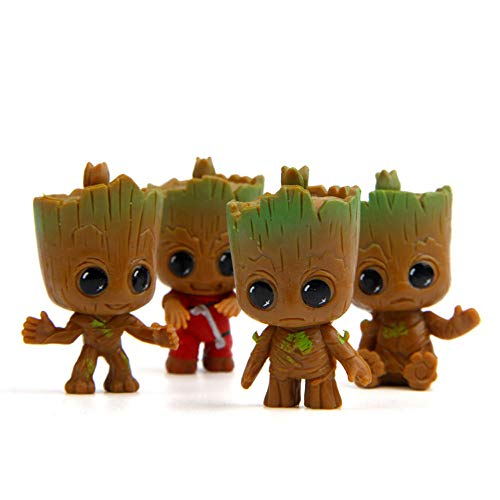(BEYOND MS Außerhalb MS f Version Groot Baum Man Action Figuren Modell Spielzeug Film Baum Mann Best Geschenke für Groot Liebhaber)