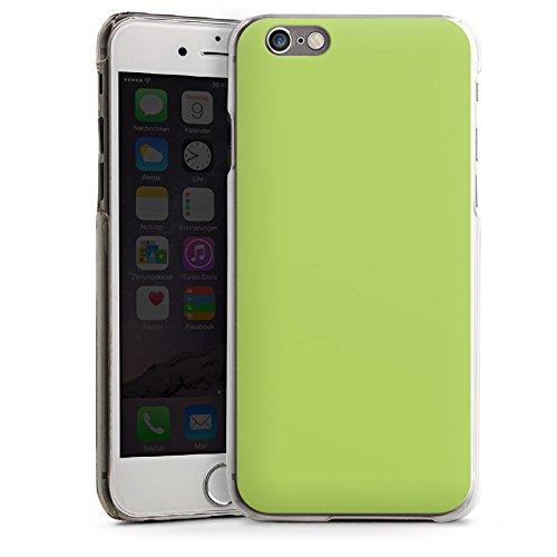 Apple iPhone 5s Housse étui coque protection Vert tilleul Printemps Vert CasDur transparent