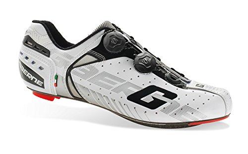 Soul Rebel Cyclisme - GA Gaerne–Zapatos de ciclismo–3275–004G-Chrono SC White, Blanco (blanco), 47