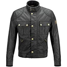 Belstaff Mojave 2.0 Wax Cotton – Chaqueta, color negro, mujer hombre, negro