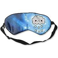 Cute Sad Rain Cloud 99% Eyeshade Blinders Sleeping Eye Patch Eye Mask Blindfold For Travel Insomnia Meditation preisvergleich bei billige-tabletten.eu