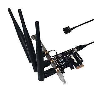 [New Version] ABWB 802.11AC WI-FI With Bluetooth 4.0 PCI ...