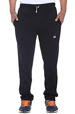 VIMAL JONNEY Men's Track Pants (D1BLACK01-L_Black)