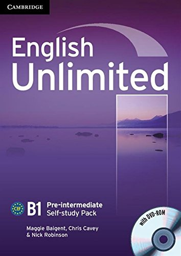 English Unlimited Pre-intermediate Self-study Pack
