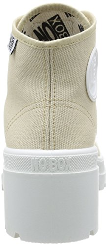No Box Galia, Baskets mode femme Beige (Mastic)