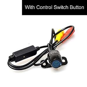 CoCar Auto PKW Rückfahrkamera Frontkamera Seitenkamera Multifunktionales Knopfsteuerung Vorne/Hintern/Seiten Mini WEITWINKEL Wasserdicht Einparkhilfe 12V