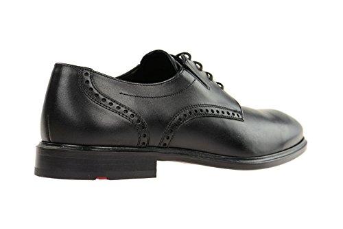 LLOYD  1738300, Chaussures de ville à lacets pour homme Noir