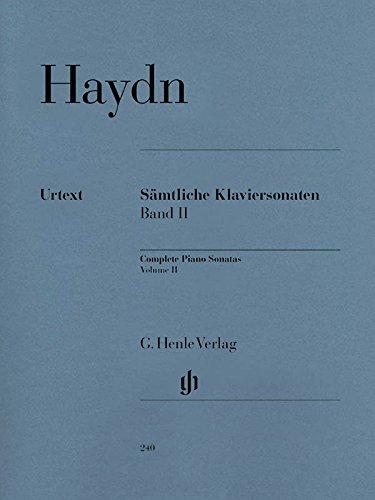 Joseph Haydn. Sämtliche Klaviersonaten. Band II. Urtext