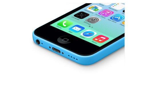 Apple iPhone 5C Smartphone (4 Zoll (10,2 cm) Touch-Display, 16 GB Speicher, iOS) Blau - 3