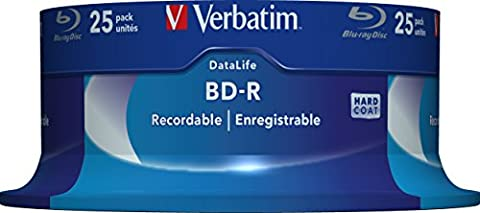 BD-R SL DATALIFE 25GB 6x 25PK (Bd-r Rohlinge)