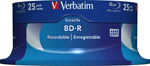 BD-R Verbatim Datalife SL 6x 25GB 25pack Spindel No ID