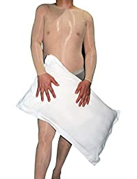 ElsaYX Männer Frauen Shiny Offene Crotch Ganzkörper Strümpfe