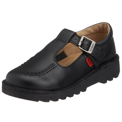 Kickers Toddler Kick T L Core Kids Unisex Classic Shoes Black, 30...
