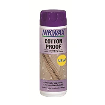 Nikwax Vaude cotton proof...