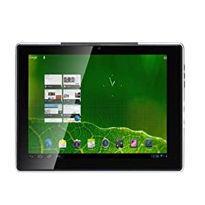 "Hanns SN97T41W Tablette tactile 9,7"" (24,64 cm) ARM Cortex-A9 1,2 GHz 8 Go Android Jelly Bean 4.1.2 Wifi Argent"
