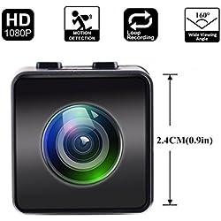 Mini Kamera Hawkeye Firefly HD 1080 P FPV Mikro Action Kamera Mini Versteckte Spy Cam mit DVR FOV160 ° Eingebautes Mikrofon für RC Drone