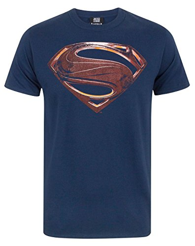 Foto de Justice League Superman Logo Men's T-Shirt (L)