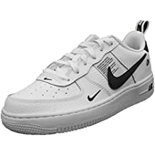 size 40 4aa8e 8a8bf Nike Air Force 1 LV 8 Utility (GS), Scarpe da basket, Bianco