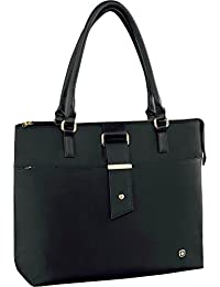 """Wenger 601074 ANA 15.6"""" Womens Laptop Bag , Padded laptop compartment with iPad/Tablet / eReader Pocket in Black {14 Litres}"""