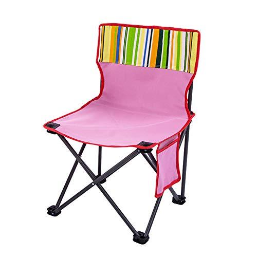 WYX Neue Stuhl Tragbare Falten Camping Stuhl Angeln Stuhl Leichte Sitz für Picknick Im Freien BBQ Strand,B - Neue Bar Hocker Stuhl
