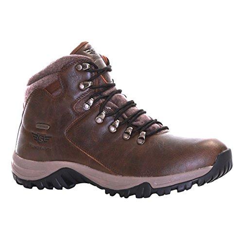 Slimbridge Cribyn stivali impermeabili da trekking per uomo, Marrone