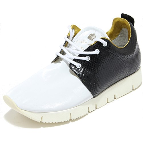 Leather Crown 2840I Sneakers Donna Running Hand Made Scarpe Shoes Women