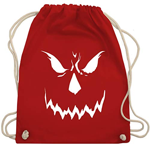 Lustige Scary Kostüm - Halloween - Scary Smile Halloween Kostüm - Unisize - Rot - WM110 - Turnbeutel & Gym Bag