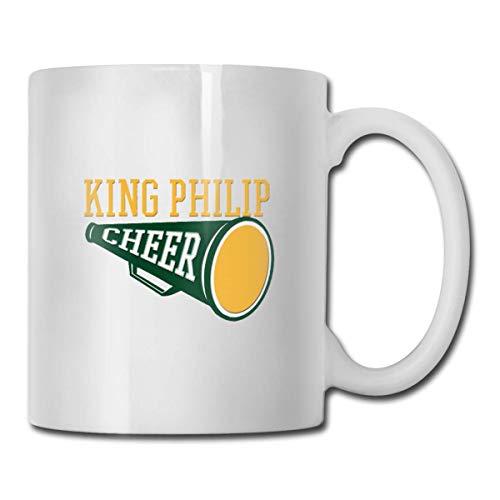 KP Cheer Megaphone Keramik Kaffeetasse Ideen Becher Beste Familie und Geburtstagsgeschenk Tasse