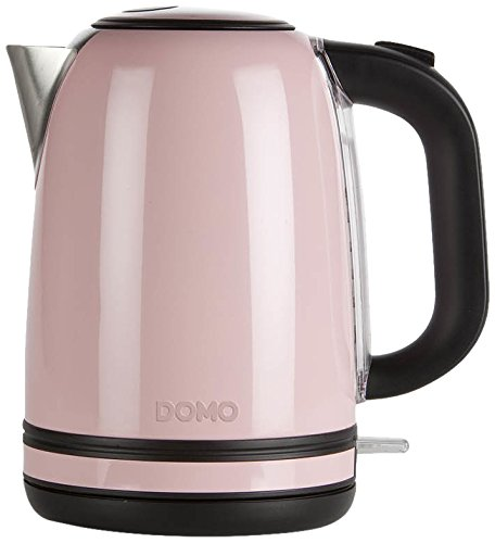 Domo DO487WK Wasserkocher, pastell rose
